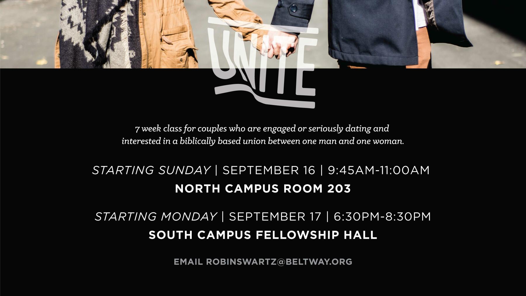 Unite Premarital Class NORTH