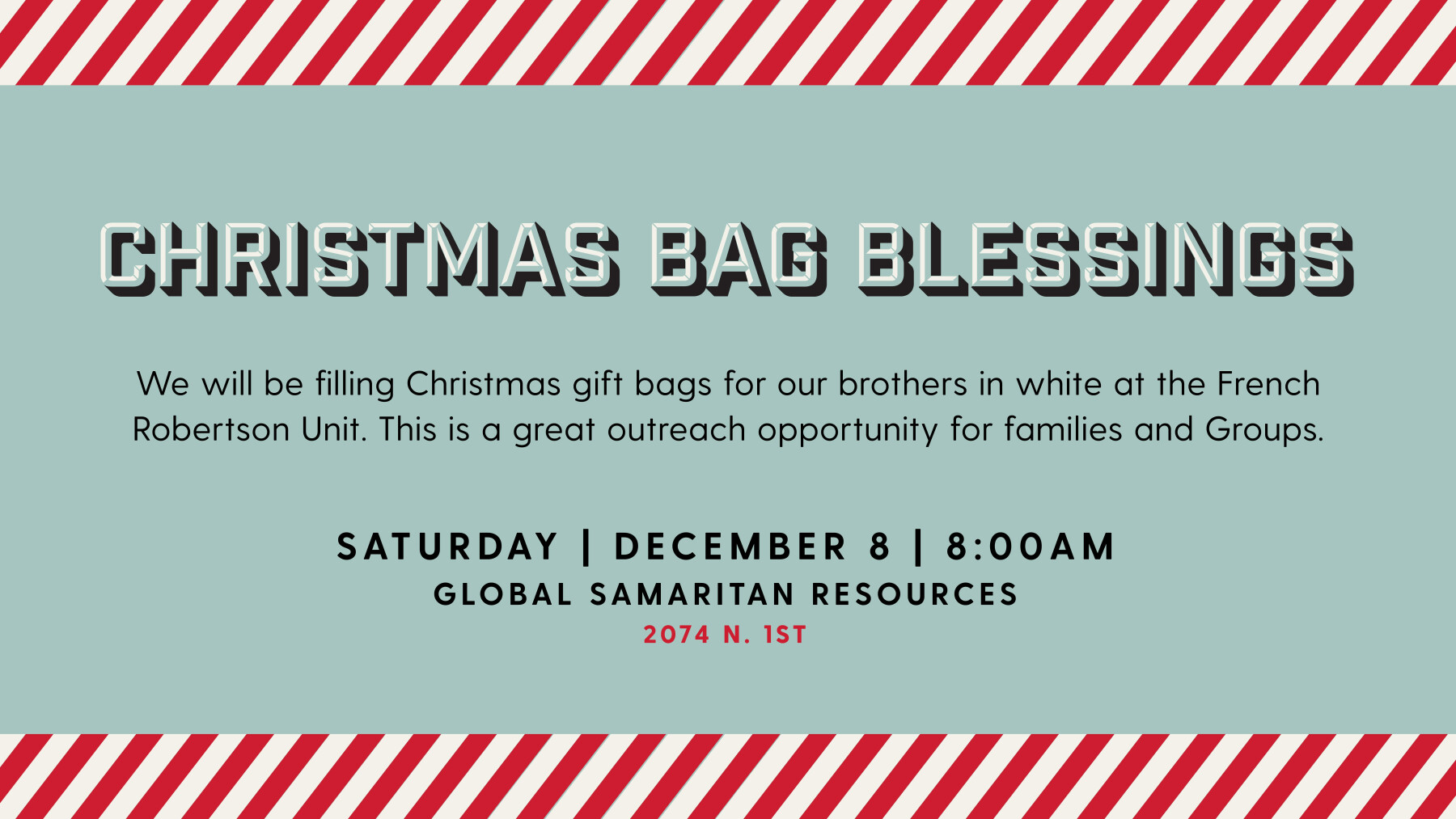 Christmas Bag Blessings