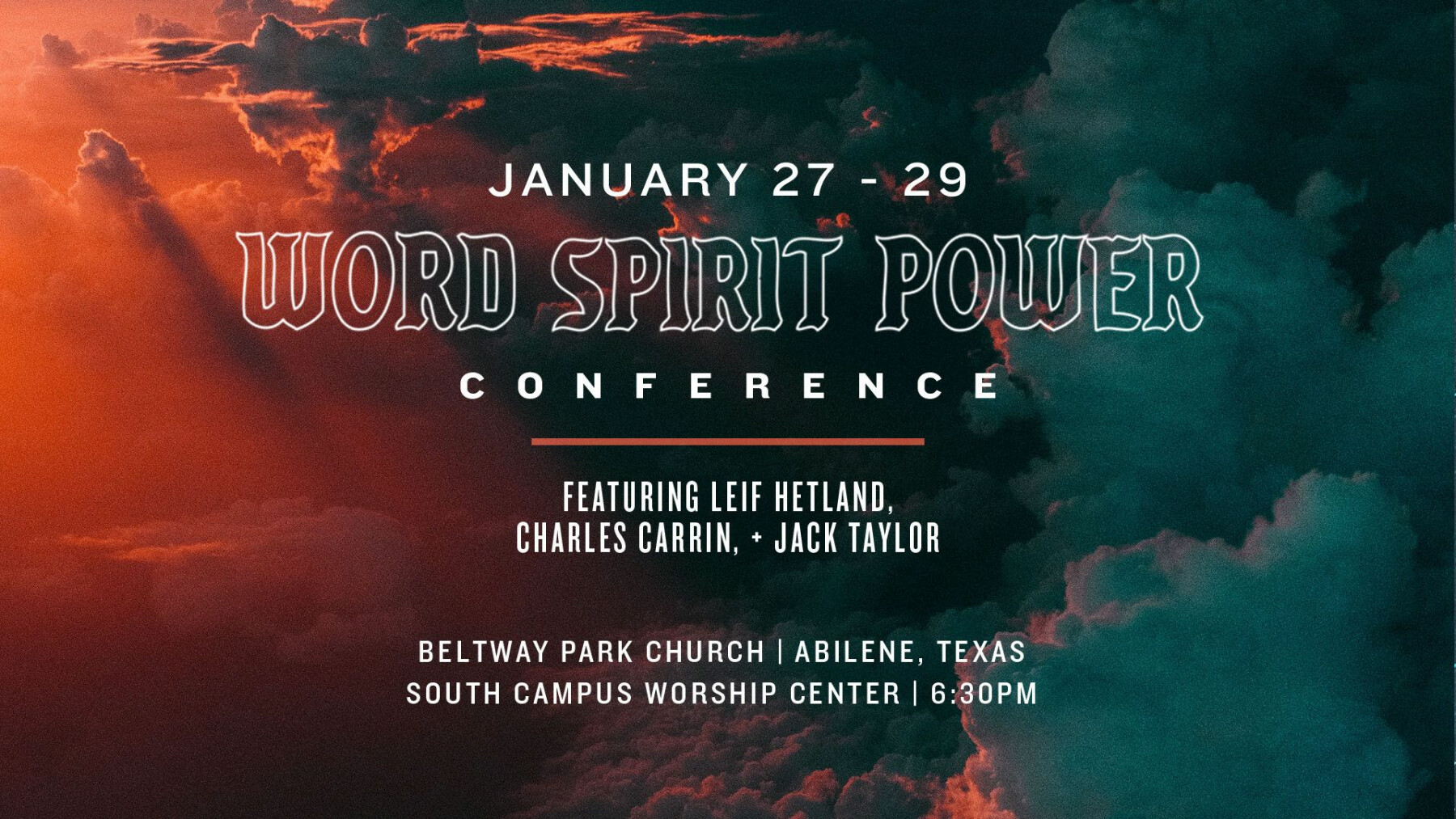 Word, Spirit, Power Conference Session 1