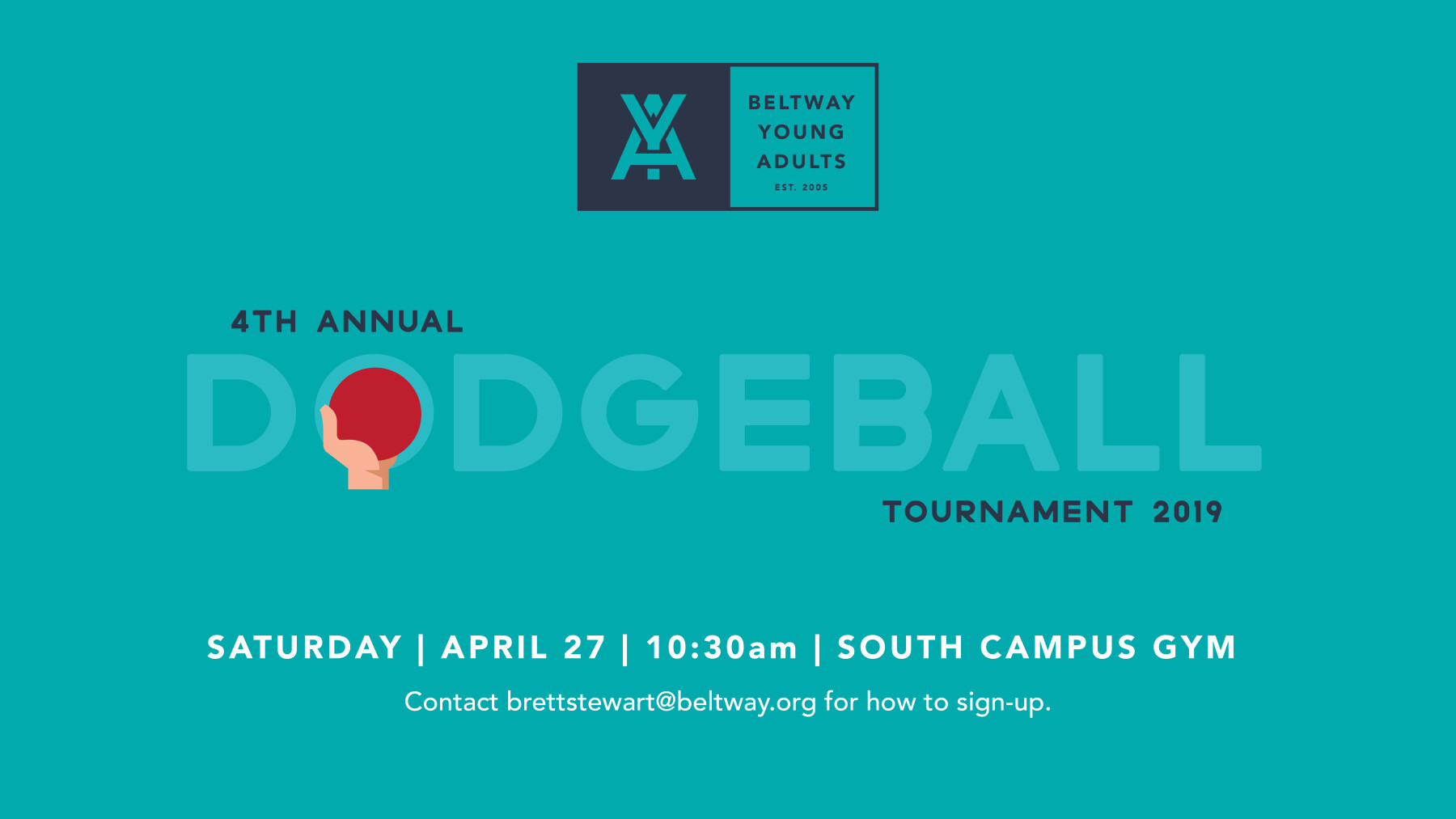 4th Annual Young Adults Dodgeball Tournament