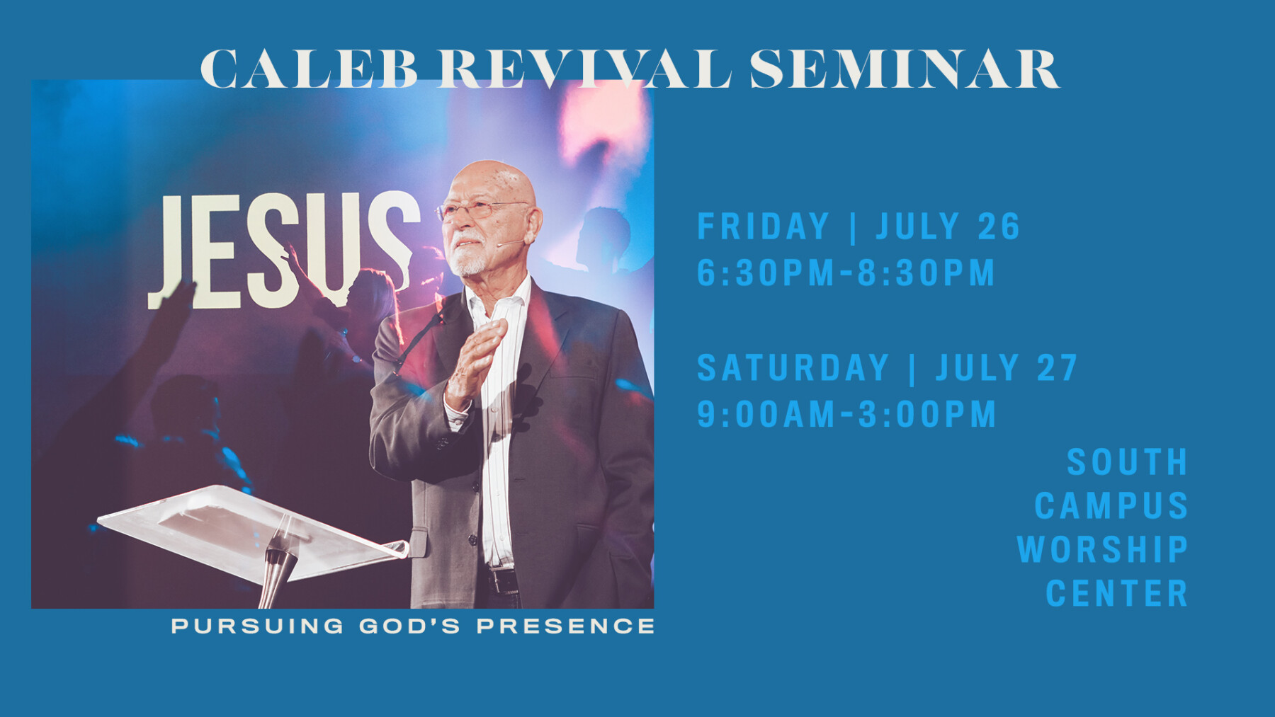 Caleb Revival Seminar FRIDAY