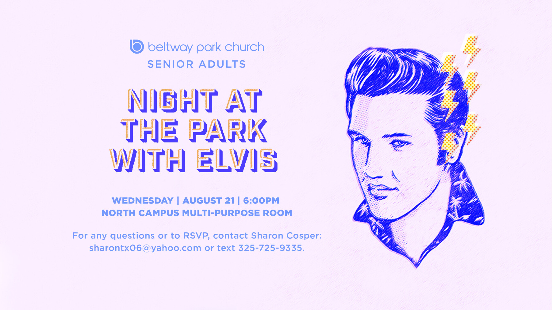 Senior Adults Night at the Park with Elvis
