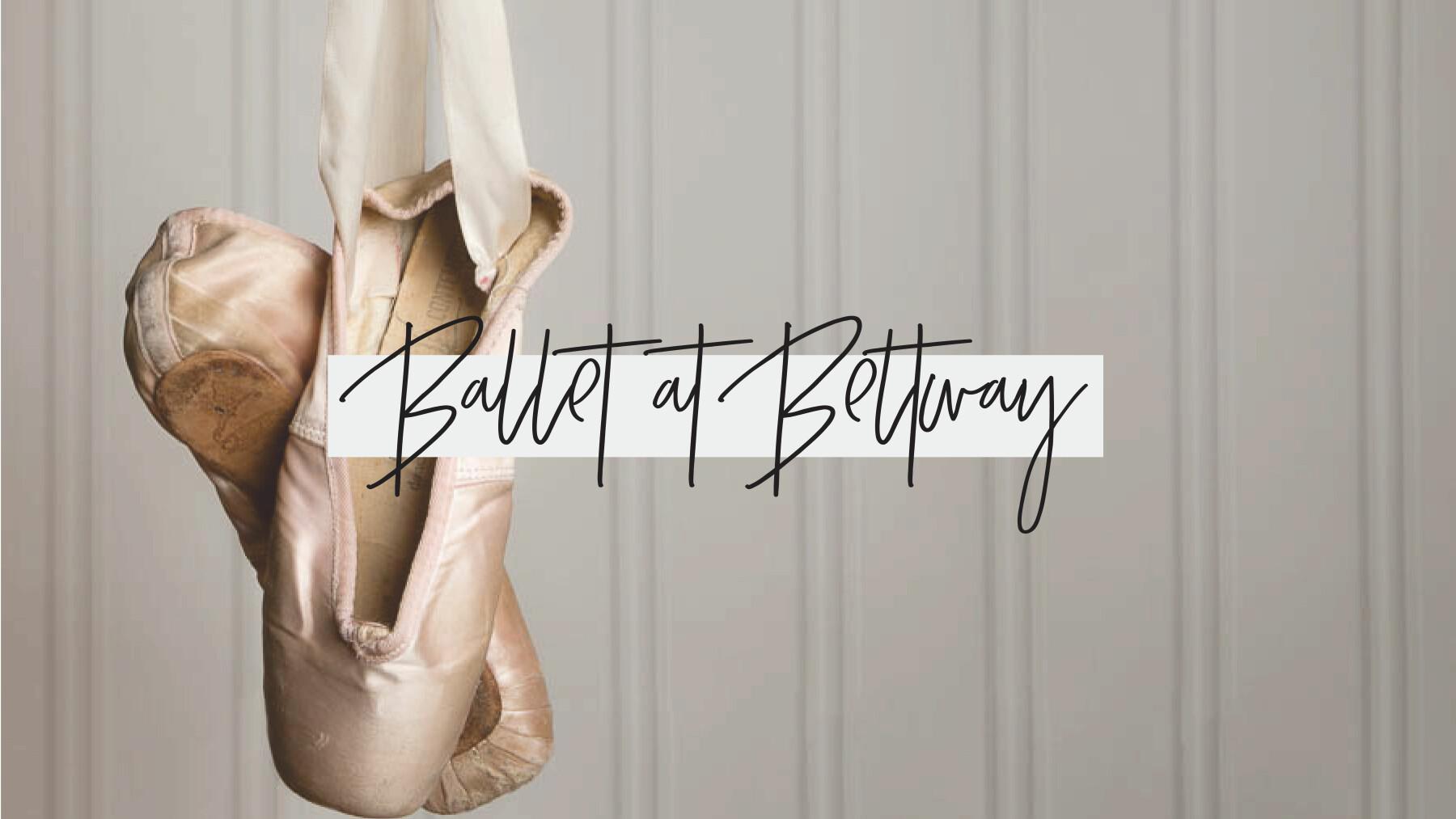 Ballet at Beltway: Fall Registration
