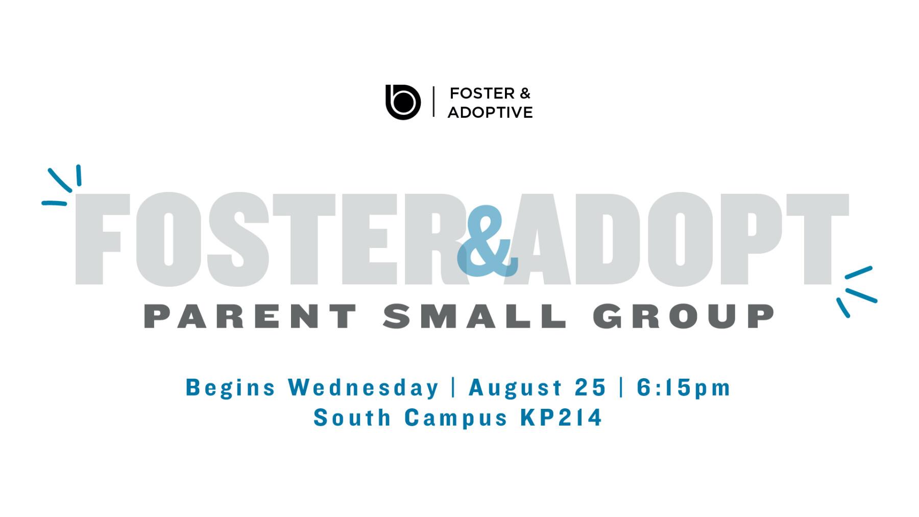 Foster Adoptive Parent Small Group
